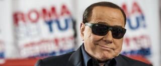Berlusconi visita il comitato elettorale per Bertolaso Sindaco